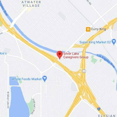 Google Map image and link to map for Silver Lake Caregivers Group